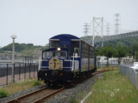 門司港レトロ観光列車「潮風号」・写真