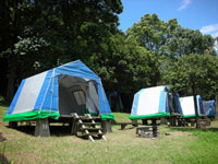 休暇村雲仙諏訪の池キャンプ場・写真