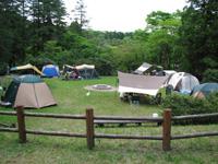 白雲の池キャンプ場・写真