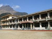 旧大野木場小学校被災校舎・写真