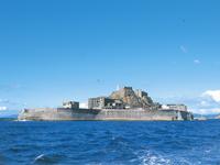 軍艦島資料館・写真