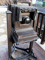 龍馬の肘置きと彦馬のカメラ・写真