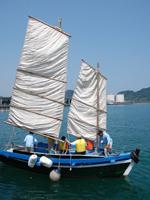 チョロ船体験・写真