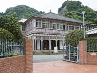 旧鹿児島紡績所技師館(異人館)・写真