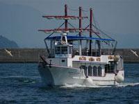 帆船型観光遊覧船クイーンズしろやま・写真