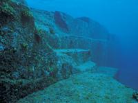 海底遺跡・写真