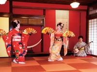 舞娘茶屋 雛蔵畫廊 相馬樓・写真