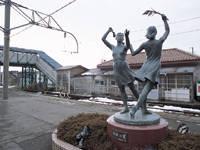 彫刻の散歩道・写真