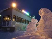 樹氷ライトアップ観賞会・写真