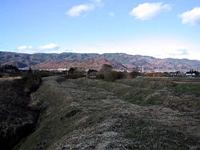 阿津賀志山防塁・写真