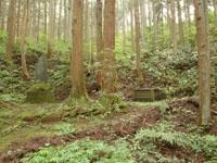 和泉式部庵跡と化粧の井・写真