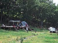 奥会津昭和の森キャンプ場・写真