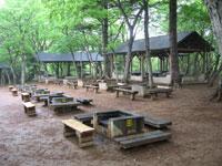 北山公園キャンプ場・バーベキュー場・写真