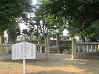 玉日姫の墓・写真