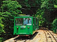 筑波山ケーブルカー・写真