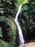蓬莱山と三滝・写真