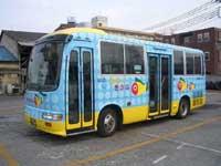 宇都宮市内循環バス きぶな・写真