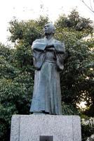 由利公正(三岡八郎)像