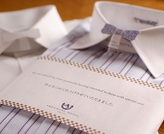 饭店最早导入洗衣服务的也是帝国饭店。这种细腻的工作,得到世界各地商业人士深度的信赖。