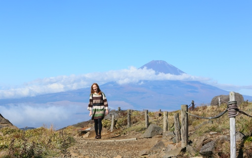 Summit of Mt.Komagatake