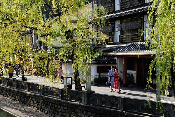 Promenez-vous dans Yukata