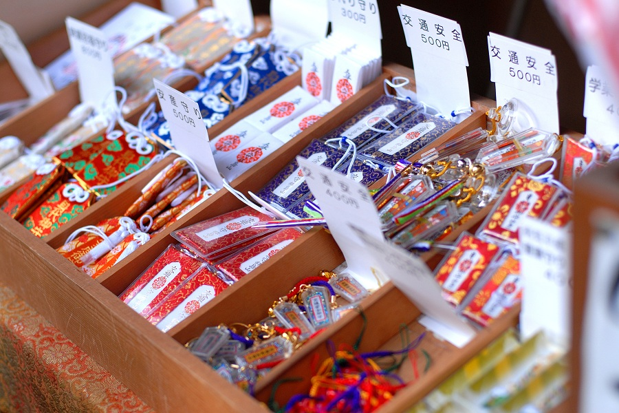 Purchase an omamori for good fortune