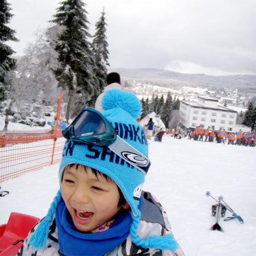 白樺湖皇家山滑雪