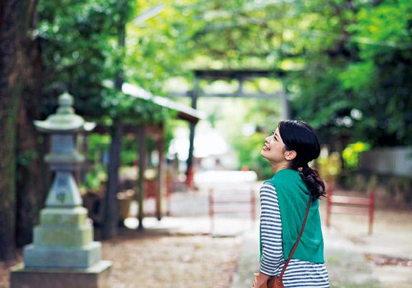 【1】熊野三所神社からスタート