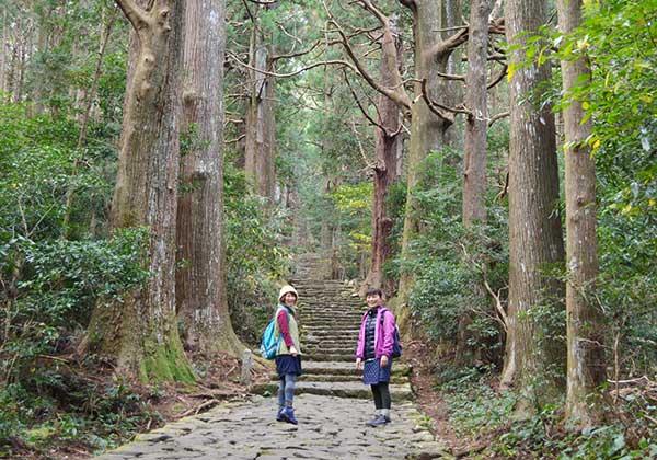 熊野古道大門坂(那智勝浦町)