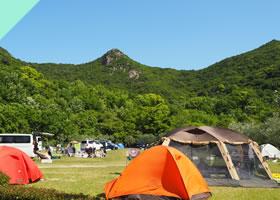 オートビレッジヨシダでキャンプ