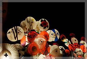 冬の九州・灯りの祭典。山鹿灯籠浪漫、百華百彩。