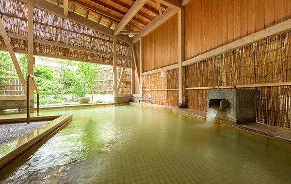 作並温泉 かけ流し温泉 かたくりの宿
