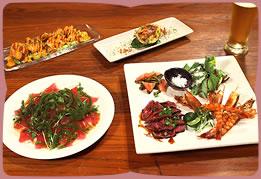 久米島産食材を使った創作料理