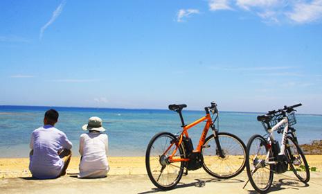 ヨンナーサイクル久米島