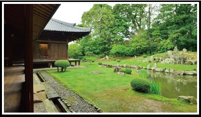 萬福寺 雪舟庭園