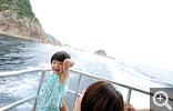 【浦富海岸】島めぐり遊覧船でジオパーク探検!