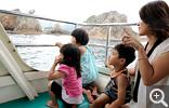 【浦富海岸】島めぐり遊覧船は見所たっぷり40分