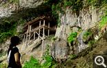 【三徳山】断崖絶壁に建つ「国宝 投入堂」