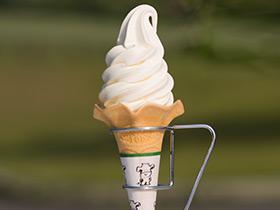 白バラソフトクリーム