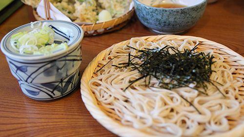 Soba (Buckwheat Noodles)