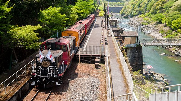 The Sagano Scenic Railway