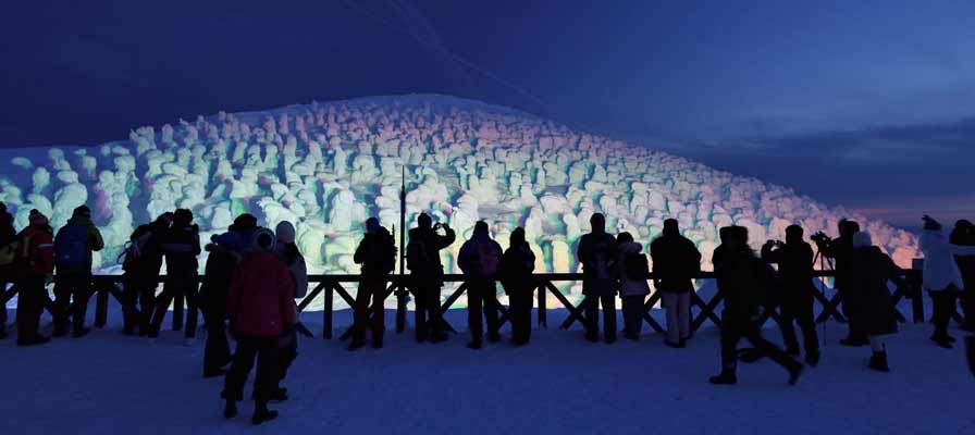 Zao Snow Monster Festival (illumination)