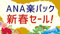 ANA楽パック・新春セール!1/23まで!!