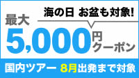 最大5,000円クーポン