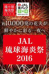 JAL琉球海炎祭