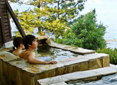 貸切風呂が楽しめる宿 広々お風呂を独占!極楽のひと時をどうぞ