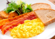 Breakfast Sample 2 ( Western-Style )