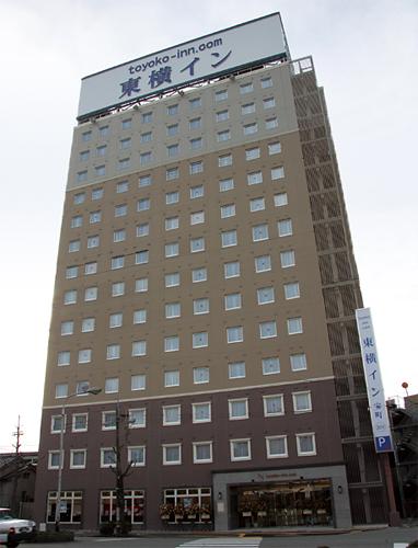 東横イン富山駅前1