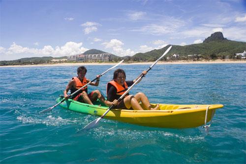海上独木舟体验