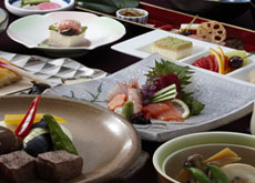 Japanese Style Meal Sample